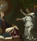 Full title: The Annunciation Artist: Nicolas Poussin Date made: 1657 Source: http://www.nationalgalleryimages.co.uk/ Contact: picture.library@nationalgallery.co.uk  Copyright © The National Gallery, London